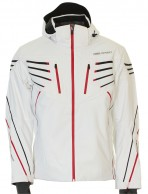 DIEL Alan mens ski jacket, white
