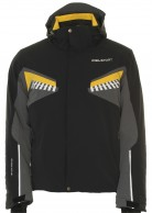 DIEL Bryan mens ski jacket, black
