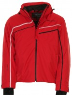 DIEL Donny ski jacket, mens, red