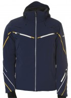 DIEL Bruno mens ski jacket, blue