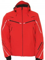 DIEL Bruno mens ski jacket, red