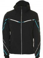 DIEL Bruno mens ski jacket, black