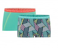 Kari Traa Attraktiv Hipster, 2-pack, turquoise