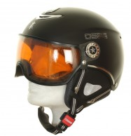 Osbe Proton Sr Snow, ski helmet with Visor, mat black