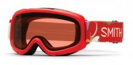 Smith Gambler Air jr skigoggle, red