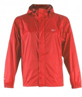 2117 of Sweden Vara, mens rain Jacket, red