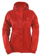2117 of Sweden Vara, womens rain jacket, red