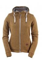 2117 of Sweden Grolanda womens fleece jacket, brown