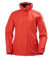Helly Hansen W Aden Jacket, Rain Jacket, red