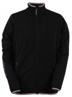 2117 of Sweden Essunga mens fleece jacket, black