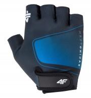 4F mens cycling gloves, cheap, blue
