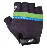 4F mens cycling gloves, black
