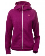 Didriksons Cimi womens fleece jacket, lilac