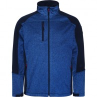 Weather Report Jorg, mens soft shell jacket, blue