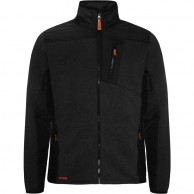 Weather Report, Joffe fleece jacket, black/gray