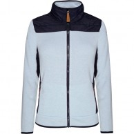 Weather Report, Emilia fleece jacket, light blue