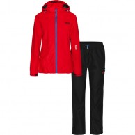 Weather Report Siri, red, womens rain suit