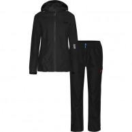 Weather Report Siri, black, womens rain suit