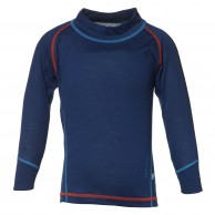 Isbjörn Husky Sweater Baselayer kids, navy