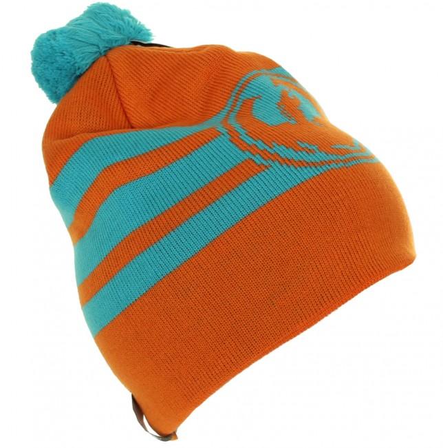 Dragon Riley Stripe Beanie, orange Dragon goedkoop online kopen