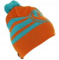 Dragon Riley Stripe Beanie, orange