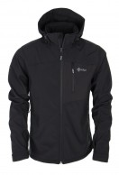 Kilpi Elio mens soft shell jacket, black