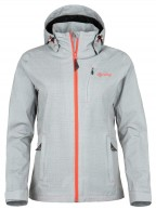 Kilpi Lhasa-W shell jacket, women, light grey