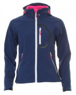 Typhoon Ludo, womens soft shell jacket, navy