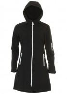 Typhoon Modo, womens soft shell jacket, black