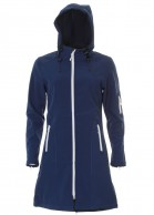 Typhoon Modo, womens soft shell jacket, navy