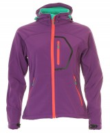 Typhoon Ludo JR, girls soft shell jacket, purple