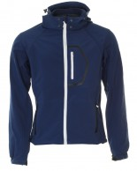Typhoon Poker, mens soft shell jacket, navy