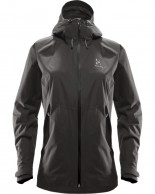 Haglöfs Esker Jacket, Womens Shell Jacket, Black