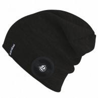 Earebel Rookery Beanie w. headphones, black