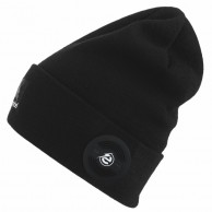 Earebel Oak Beanie w. headphones, black