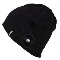 Earebel Decora Beanie w. headphones, black