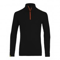 Ortovox Merino Ultra Net Long Sleeve M, black