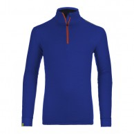 Ortovox Merino Ultra Net Long Sleeve M, blue