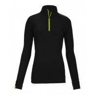 Ortovox Merino Ultra Net Long Sleeve W, black