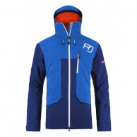 Ortovox 2L Swisswool Andermatt Jacket M, blue