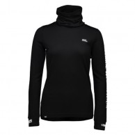 Mons Royale Cornice Rollover FWT, base layer, Black