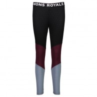 Mons Royale Christy Legging, base layer, Burgundy Lead