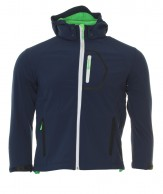 Typhoon Ludo JR, boys soft shell jacket, navy