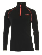 Typhoon Wengen underwear shirt, women, black/coral