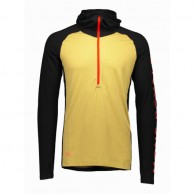 Mons Royale Checklist Hood LS, base layer, Black Desert