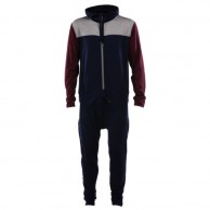 Mons Royale The Monsie One Piece, base layer, Burgundy Navy