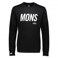 Mons Royale Original LS, base layer, Black