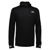 Mons Royale Yotei Powder Hood FWT, base layer, Black