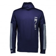 Mons Royale Yotei Powder Hood, base layer, Navy