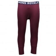 Mons Royale Shaun Off, long john, Burgundy